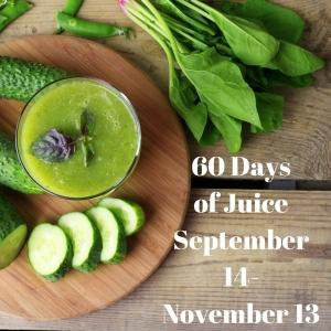 60 Days of JuiceSeptember 14-November 13
