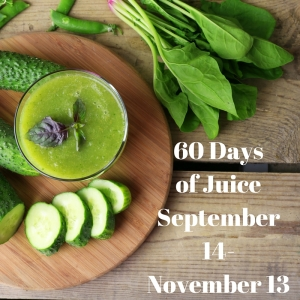 60 Days of JuiceSeptember 14-November 13