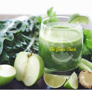 Apple, Celery, Ginger, Spinach, Lime